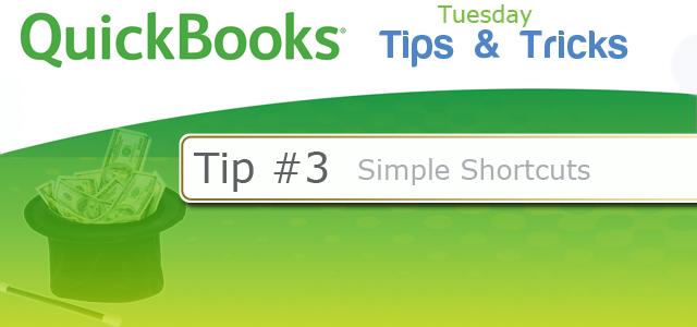 Quickbooks Tricks #3